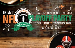 Register for the ISTAT NFL Playoff Party in Dublin